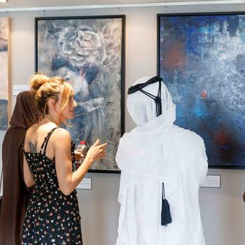 Art Exhibition with Tres Ases (Almudena Angoso) - May 2021