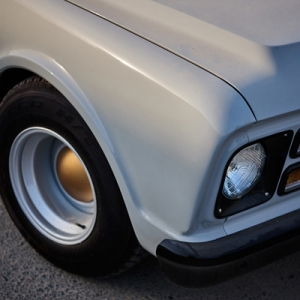 Chevrolet C10 front, limited edition print