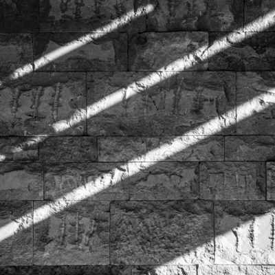 Abstract- shadows - black and white