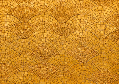 Abstract - golden shapes