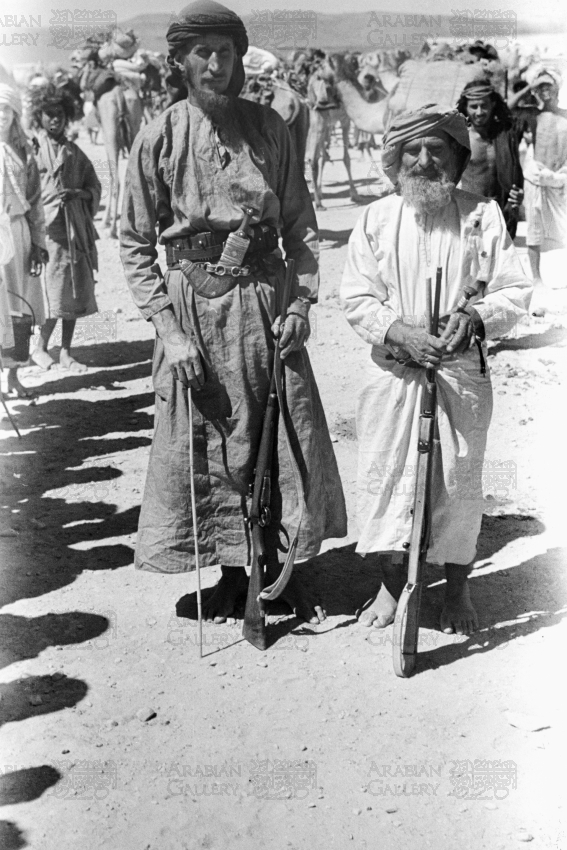 Wilfred Thesiger With Salim Bin Kalut
